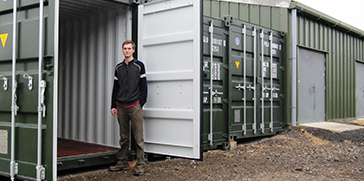 Cirencester Container Storage